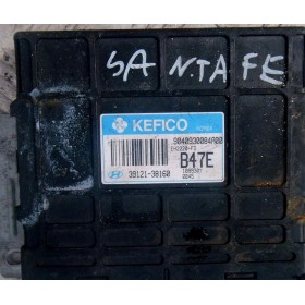 Injection engine control / unit ecu motor HYUNDAI Santa Fe 2.4 i 2001 4x4 ref 9040930084a00 / Kefico 39121-38160