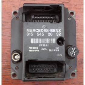 Calculateur moteur pour Mercedes W202 / W210 ref 0155452632 / 015 545 26 32