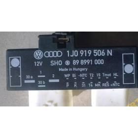 Rele / Unidad de control para ventilador ref 1J0919506N