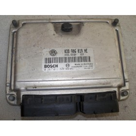 Calculateur moteur pour Seat / Skoda 1L9 TDI 100 cv ATD ref 038906019NE / 0281011824