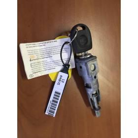 Serrure barillet avec boitier et une clé pour Seat Ibiza 6J ref 107837167T / 107837167EB