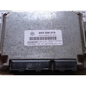 Calculateur moteur pour VW / Seat 1L6 ref 6K0906019 / 5WP4883 03