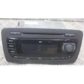 Car radio Seat ibiza ref 6J1035153C / 6J1035153E / 6J1035153G / 6J1035153H