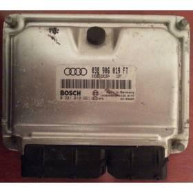 Calculateur moteur pour Audi A3 1L9 TDI 130 cv ASZ ref 038906019FT / 038998019 / 0281010981