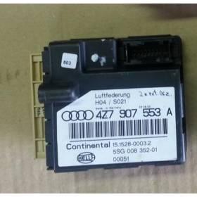 Calculateur de suspension pour Audi A6 Allroad ref 4Z7907553A / 4Z7907553G