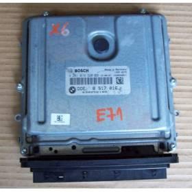 Calculateur moteur pour BMW E70 E71 ref 8517016 / 0281018320