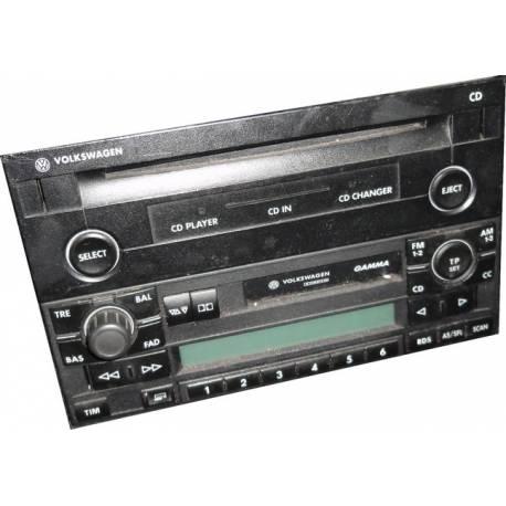 Chaîne hifi CD pour VW Golf 4 / Bora / Passat ref 1J0035119A / 1J0057119B / 1J0057119D / 1J0035119C / 1J0035119D