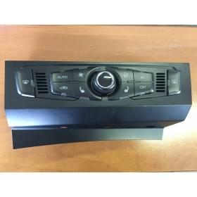 Climatronic / Coque / Facade nue pour Audi A4 / A5 / Q5 ref 8T1820043AA / 8T1820043AN / 8T1820043AH