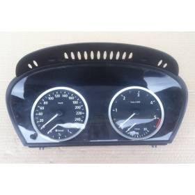 Compteur / combiné porte-instruments pour BMW E60 / E61 ref 62.11-6 958 600 / 62.11-6958600