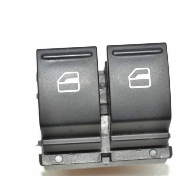 Commutateur pour lève vitre 3 portes pour VW 1K3959857A Seat ref 1K3959857