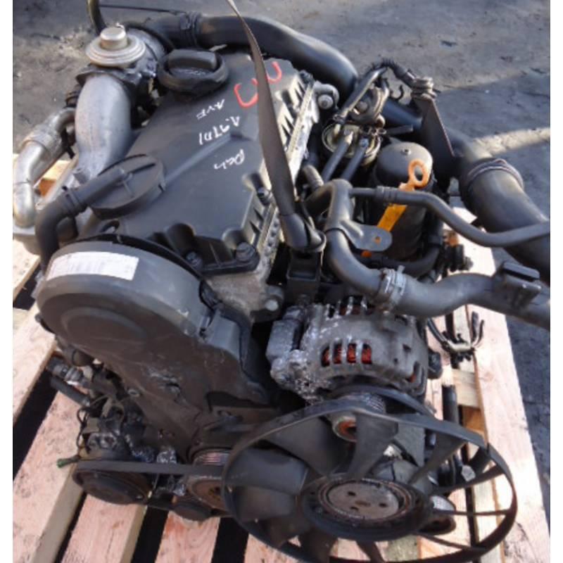 motor  engine 1l9 tdi 115cv type ajm for vw passat  audi