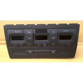 Climatronic / Commande de chauffage et ventilation pour Audi A4 B6 ref 8E0820043BL / 8E0820043BL 5PR