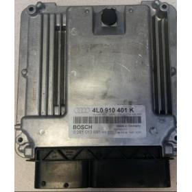 Calculateur moteur  Audi Q7 ref 4L0910401K Bosch 0281013691