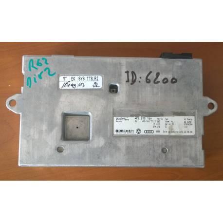 Boitier d'interface avec logiciel ref 4F0910731D / 4E0035729 / 4F0910732HX pour AUDI A6 4F