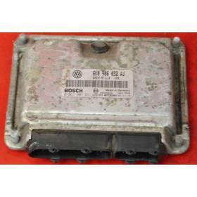 Engine control / unit ecu motor Seat Ibiza / Cordoba 1.4 MPI ref 6K0906032Q 6K0906032AJ Bosch 0261206836 0261207231