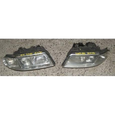 2 phares optiques avant pour Audi A4 B5