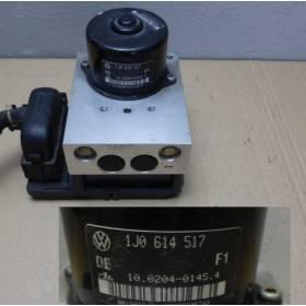 ABS PUMP UNIT AUDI SEAT VW SKODA 1J0614517 / 1J0698517 / 1J0614379S
