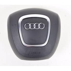 Airbag volant 3 branches pour AUDI A3 8P ref 8P0880201BB6PS / 8P0880201BB / 8P0880201BJ6PS