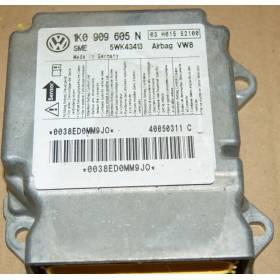 Calculateur d'airbag VW Seat Skoda 1K0909605K 1K0909605L 1K0909605N 1K0909605R 1K0909605T