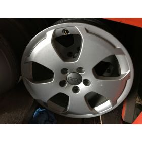 4 originally rims in 16 inches without tyres for Audi A3 8P ref 8P0601025A Z17 / 8P0601025EK