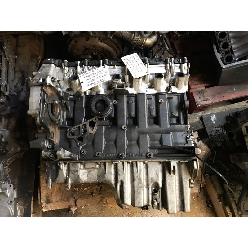 engine motor sold for parts without warranty for bmw 525d