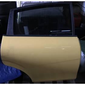 Porte arrière droite passager modèle 5 portes pour Seat Leon 2 coloris jaune LS1A - AMARILLO SCHWEPPES ref 1P0833056