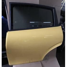 Porte arrière gauche conducteur modèle 5 portes pour Seat Leon 2 coloris jaune LS1A - AMARILLO SCHWEPPES ref 1P0833055