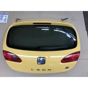 Malle arrière hayon / coffre coloris jaune LS1A - AMARILLO SCHWEPPES pour Seat Leon II