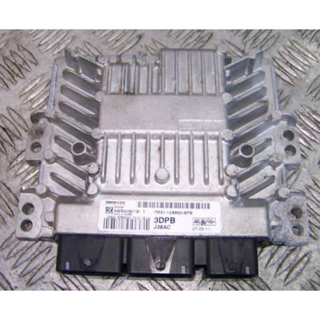 Calculateur moteur pour Ford Focus 1.8 TDCI 115 ref 5WS40607B-T / 7M51-12A650-APB