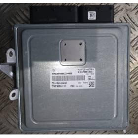 Calculateur moteur moteur MODULE DE COMMANDE PANAMERA ECU 970618601
