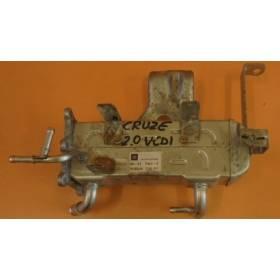 Refroidisseur pour recirculation des gaz d'échappement Chevrolet Captiva / Cruze Orlando 2.0 / 2.2 ref 25185316