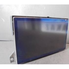 Ecran GPS unité d'affichage couleur pour Peugeot 607 ref 9656303580  9648681077  9648680977