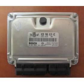 Calculateur moteur pour VW Passat / Skoda Superb 1L9 TDI 130 cv moteur AVF ref 0281011201 / 038906019KE