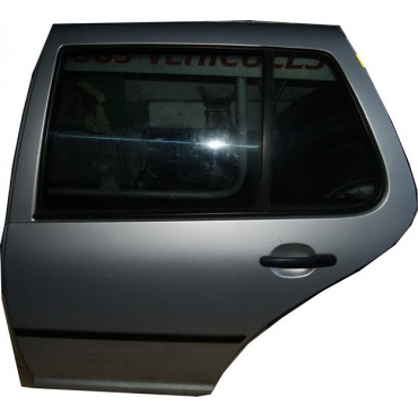 Portière arrière conducteur pour VW Golf 4 grise LB7Z