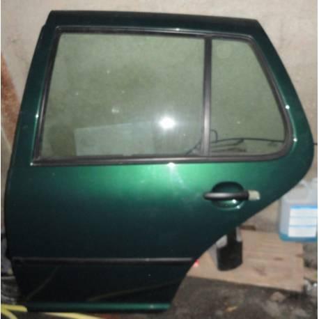 Portière arrière conducteur GOLF 4 vert bouteille LC6M