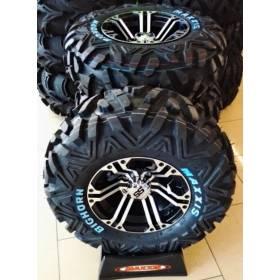 Jantes roues avec pneus Maxxis Bighorn 25x8 / ITP SS 12/10