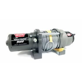 Treuil électrique WARN Vantage 3000 lbs 1361 KG (CABLE ACIER) Nouveau modèle