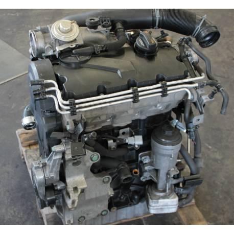 Moteur 1L9 TDI 105 cv de type BJB avec injection ref 03G100098 X / 03G100098X