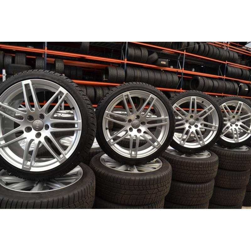 Alufelgi Opony Zimowe Audi A4 8k A6 23555r19 Ref 8k0601025cj