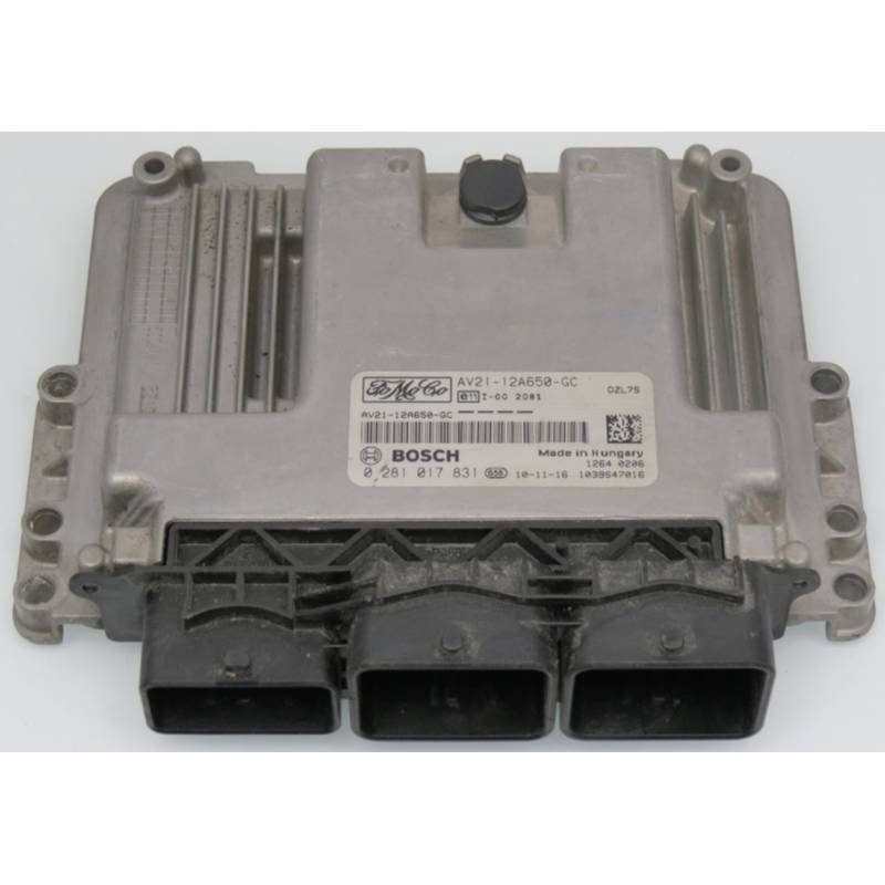 Engine Control  Unit Ecu Motor Ford Focus 1 8 Tdci 115 Ref 5ws40607b
