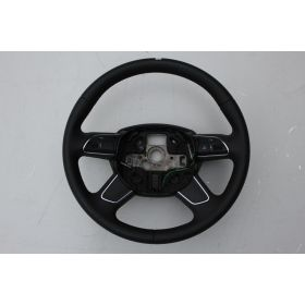 Black leather steering-wheel Audi Q7 ref 4L0419091AT / 4L0419091AL
