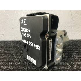 Abs pump  unit Peugeot / Citroen 9665626280 9676906580 9674796680  Bosch 0265251351 0265951482