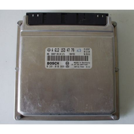 Calculateur moteur MERCEDES SPRINTER 2.7 CDI A6121534779 0281010969