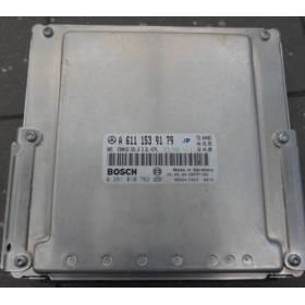 Calculateur moteur Mercedes W210 2.2 CDI A6111539179 0281010762