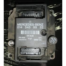 Calculateur moteur pour Mercedes W202 ref 0145459932 014 545 99 32