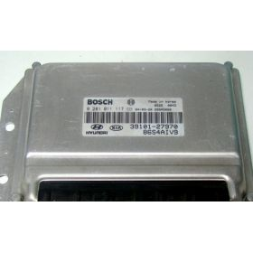 Engine control / unit ecu motor HYUNDAI KIA ORDINATEUR 0281011117 3910127970 39101-27970