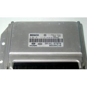 Engine control / unit ecu motor HYUNDAI KIA ORDINATEUR 0281011117 3910127970 39101-27970