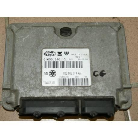 Calculateur moteur pour VW Golf 4 1L4 16V AHW ref 036906014AA / 036906014CG