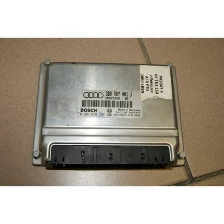 Calculateur moteur pour VW Passat 2L5 V6 TDI 150 cv AFB ref 3B0907401J / ref Bosch 0281010147