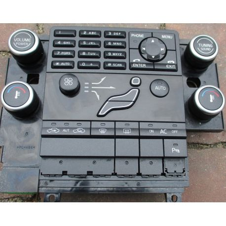 Climatronic panel control VOLVO V70 III 30783905